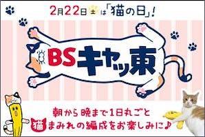 BSキャッ東 ~2月22日(土)は猫の日!